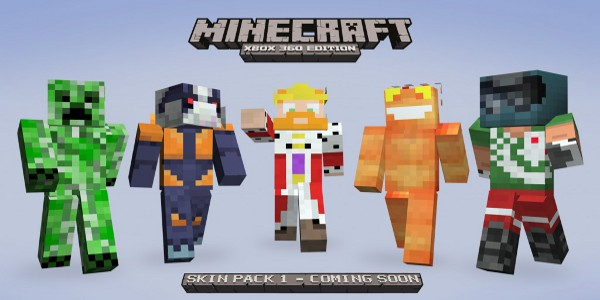 Xbox 360 Minecraft To Get 40 New Character Skins