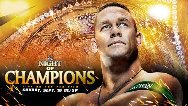 WWE Night of Champions Live Chat – Presented by Because Wrestling!