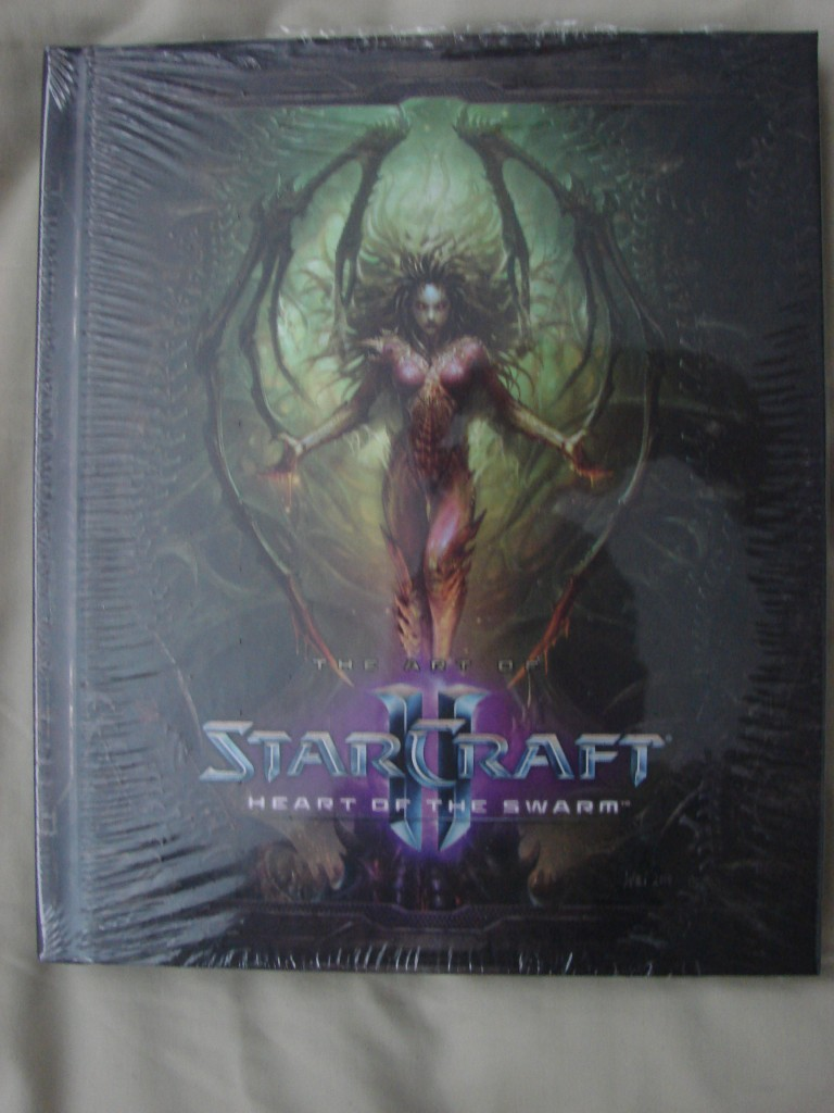 StarCraft II: Heart of the Swarm Art Book